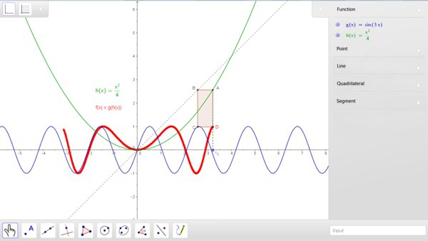 GeoGebra, software libre de Geometría, ya está para iOS, Android y Windows 8